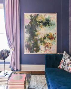 Parisian inspired lounge at blue print gallery art by joyce howell parisian lounge at blue print gallery moody colors bold colors art by joyce malvernweather Choice Image