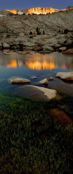 Conness Ridge Sunset • 20 Lakes Basin - Tioga Pass - California • Original: http://www.cookseytalbottgallery.com/image_vertorama3.php?gaFileName=Conness-Ridge-0810_6789-6799.jpg&gaImageIndex=3&gaPageNumber=1&gaGallery=APPDEV_GALLERY_largevertoramas
