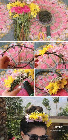 MY DIY | Flower Crown