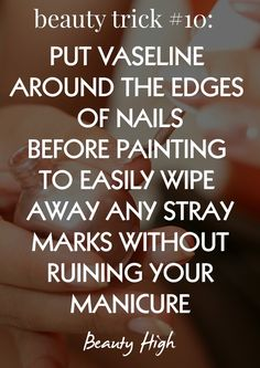 DIY manicure trick ...now go forth and share that BOW & DIAMOND style ppl! Lol ;-) xx
