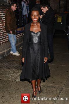 Lupita Nyong'o, Ed Sullivan Theater, The Late Show