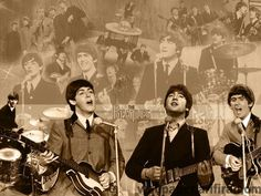 The Beatles.omg my cousins gave me the exact poster fir my birthday.i love it.