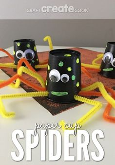 If you have little ones and you'd like a silly craft instead of a scary one, then you will love our Silly Spider Craft.