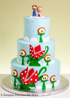 This one is adorable and comes from http://www.jacquespastries.com/ in New Hampshire.