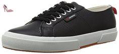 Superga 2750-FGLU BLACK - Chaussures superga (*Partner-Link)