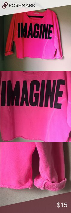 Hot pink Forever 21 Top Comfortable hot pink forever 21 top from forever 21 Forever 21 Tops