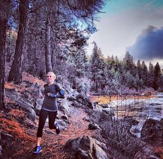 Trail runs ♡ - it's that time of year for frosty morning runs in the woods!