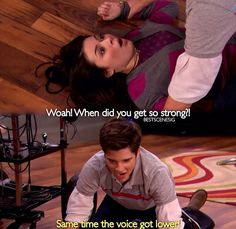 Carly and Freddie-iCarly
