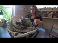 Duffel Bag Sewing Tutorial and Giveaway - YouTube