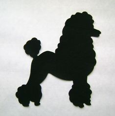 images of 50's poodle applique or drawing - Google Search