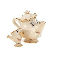 Mrs. Potts and Chip by Lennox
