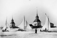 Charles Chusseau-Flaviens (French, active 1900-1919) Russie Sports d'hiver a Petersbourg, negative gelatin on glass, Gift of Kodak Pathe, George Eastman House Collection