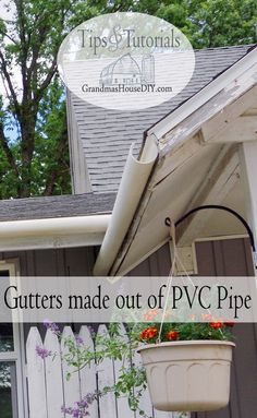 How to make seemless rain gutters out of 3