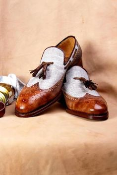 The Best Men's Shoes And Footwear : The Shoe Snob: Shoes Of The Week – Ivan Crivellaro Tassel Loafers Part 2 Custom Made Shoes, Custom Design Shoes, Leather Fashion, Mens Fashion, Gentleman Shoes, How To Make Shoes, Tassel Loafers, Men S Shoes, Casual