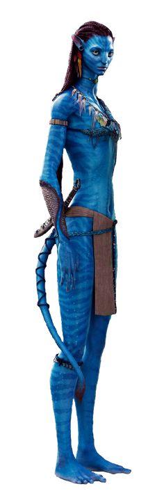 Neytiri from Avatar.