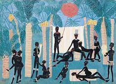 Ráj černochů, 1925