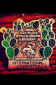258e860db8e2 2013 Fort Worth Stock Show badges.