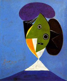 Pablo Picasso. Buste de femme. 1935