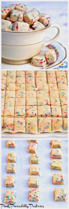 Tiny Shortbread Cookies!