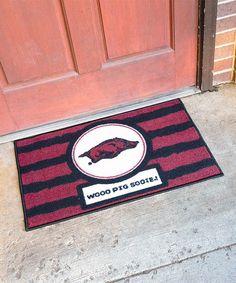 Arkansas Razorbacks Rectangle Doormat