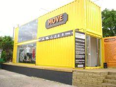 Loja container - escritorio - sala comercial - vendas