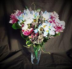 Peony Dark Pink Mixed Bouquet Home and Garden Decor - Irish Plants Direct