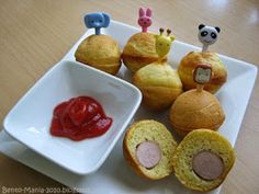 Bento-Mania.....verrückt nach der japanischen Lunch Box: Rezept: Corn Dogs aus dem Cake-Pop-Maker