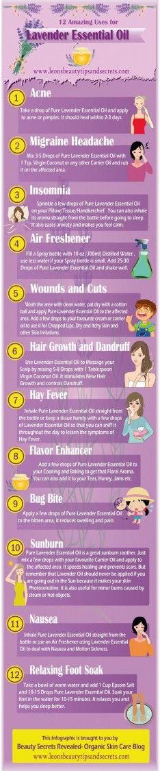 Lavender Essential Oil – 12 Amazing Uses