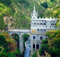 Catholic Church in Colombia Las Lajas.