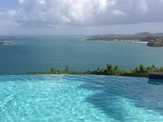 Infinity pool at Las Casitas