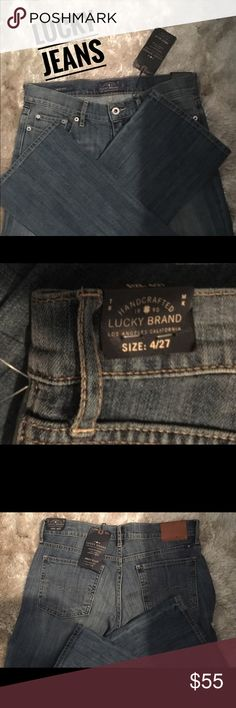 Brand new Lucky Jeans . Sweet boot cut New lucky brand jeans. Size 4/27. Soft beautiful jeans. Never worn Lucky Brand Jeans