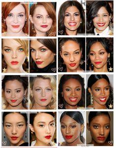 Rossetto rosso: come scegliere la tonalità giusta #makeup   ...per visualizzare il CONSIGLIO➨➨➨ http://www.womansword.it/donna-bellezza-consigli/beauty-fai-da-te/beauty-fai-da-te-make-up/rossetto-rosso-come-scegliere-tonalita-giusta/