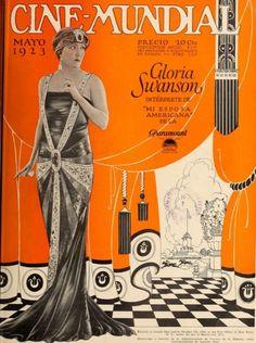 Cine-Mundial magazine, May 1923 (Gloria Swanson)