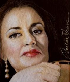 Italian Soprano Paletta Marrocu by Deborah Roberts Canwood Gallery from 10th September