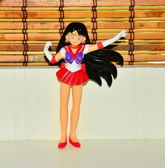 Sailor Mars Figure figurine Sailor Moon Japanese Bandai 1995 #Bandai