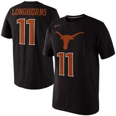 Nike Texas Longhorns #1 Tourney Takeover Replica T-Shirt