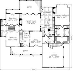 New Oxford - John Tee, Architect | Southern Living House Plans
