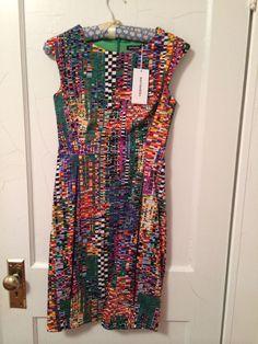 Marimekko Spring 2014 Collection Tasma Dress NWT - Size 34 #Marimekko #Sheath