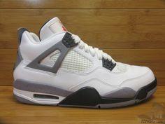 Nike Air Jordan IV 4 s sz 9 IX Uncement Cement 2012 UNRELEASED SAMPLE Mars  #Jordan #AthleticSneakers
