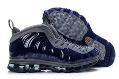 premium selection 11e81 c2bf9 Foamposite Air Max Fusion Men One Navy Blue Top Basketball Shoes, Foam  Posites, Cheap
