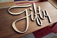 50 typographie