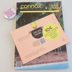 ThankYou letter from Connox.