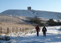 Keith Carter leads a walk up Rivington Pike and enjoys some of the finest sights across wintry Lancashire Maine, Texas, Walking Exercise, Winter Scenery, Lake District, North West, Walks, Places To See, Countryside