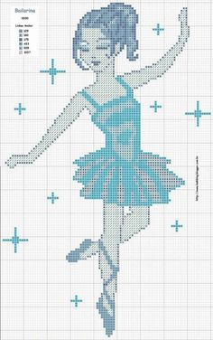 CURIOUS OWL: Cross Stitch Chart - Танцоры серия схем (танцовщиц)