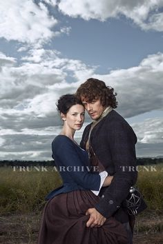 Here's a new pic of Sam Heughan and Caitriona Balfe as Jamie and Claire Fraser from the TV Guide photoshoot. The pic is tagged, hopefully we'll get a detagged version soon.  Source