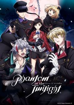 NBC Universal Japan Schedules 'Phantom in the Twilight' Anime Blu-ray Releases