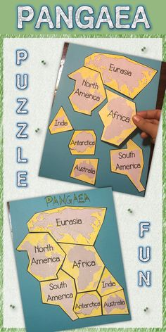 Your students will love putting together the Puzzle of Pangaea!