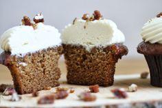 organic sticky date cupcake #organic #cupcake #englishtoffeecake #date www.sweetcharllote.com