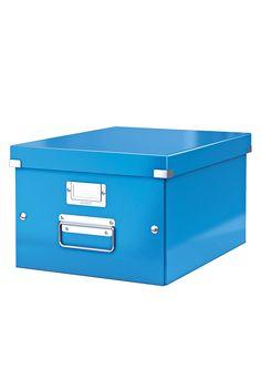 Leitz Click & Store Ablage- und Transportbox Mittel (Für Format A4)