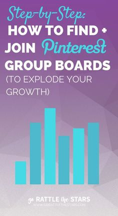 How to find and join Pinterest group boards to explode your growth | Step-by-step process to improve your chances of getting into the best group boards in your niche | Blogging | Social Media Marketing